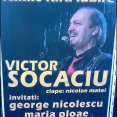 Afis Concert Victor Socaciu - Nimic Fara Iubire